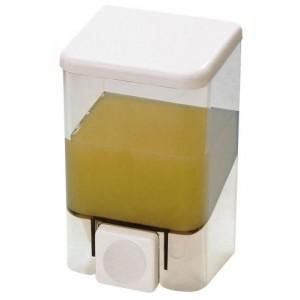 Диспенсер для жидкого мыла настенный Bravo D-SD04 прозрачный (1000 мл)