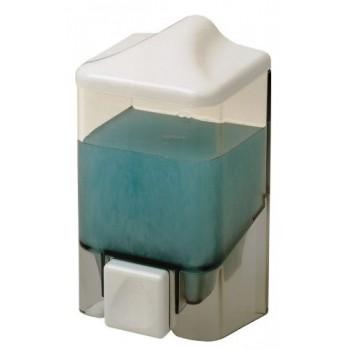Диспенсер для жидкого мыла настенный D-SD05 прозрачный (500 мл)