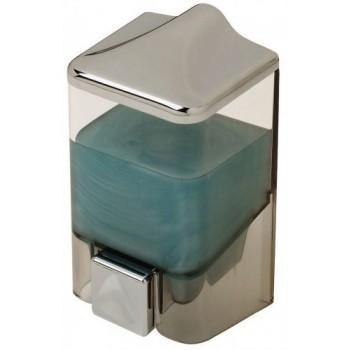 Диспенсер для жидкого мыла настенный D-SD07 прозрачный (500 мл)