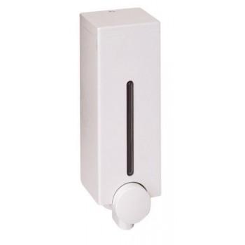 Диспенсер для жидкого мыла настенный Slim D-SD13 белый (450 мл)