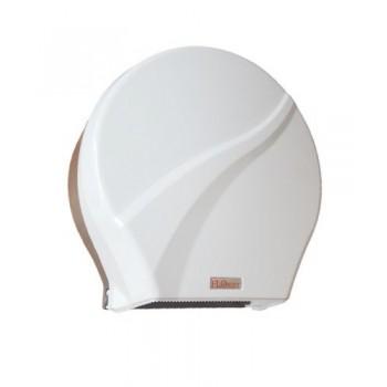 Диспенсер для туалетной бумаги D-SD33 (F165)-01-09 бело-коричневый