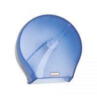 Диспенсер для туалетной бумаги D-SD33 (F165)-02-23 прозрачно-голубой