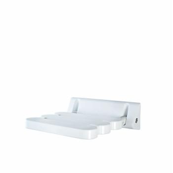 Сиденье для душевой откидное белое Ridder Assistent А00200101