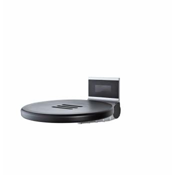 Сиденье откидное для душа Ridder Premium черное А0210010