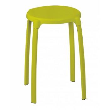 Табурет круглый для ванной зеленый Ridder Promo А1050105