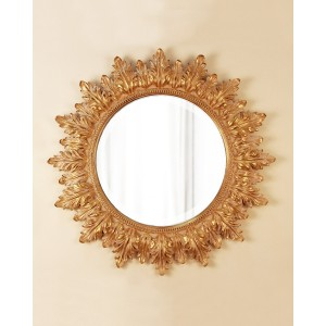 Зеркало в раме LouvreHome Альба (Neopolitan Gold) LH154