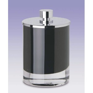 Баночка косметическая большая Windisсh Fashion 88166NCR черная
