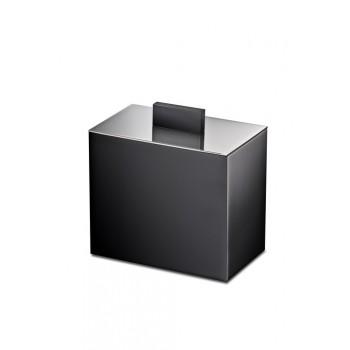 Баночка косметическая Windisсh Black 88703NCR черная, хром