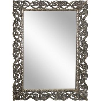 Зеркало в раме LouvreHome Бергамо Florentine Silver/19 серебро LH123S