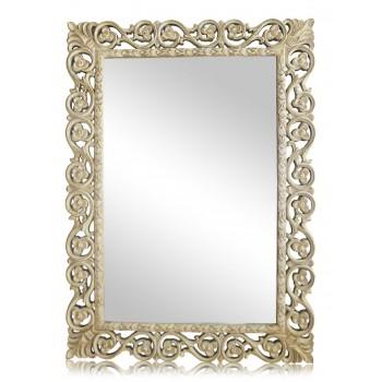 Зеркало в раме LouvreHome Бергамо Artisan Ivory LH123AI