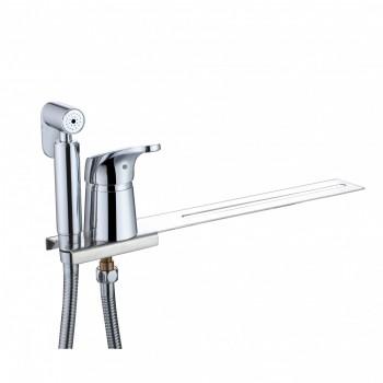 Биде-приставка на унитаз с гигиеническим душем и смесителем KAISER County 55033