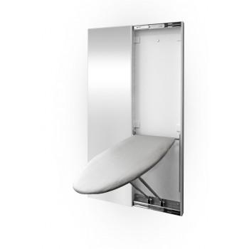 Встроенная гладильная доска с зеркальным фасадом Shelf.On Табула (160х46,6)