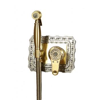 Гигиенический душ встраиваемый Bronzedeluxe Windsor 10136 бронза
