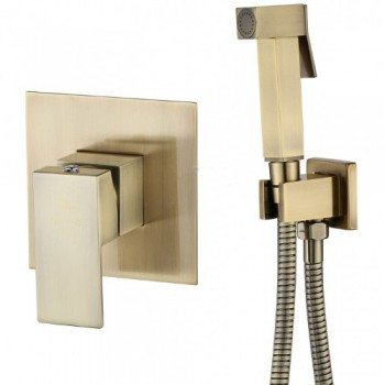 Гигиенический душ скрытый монтаж KAISER Sonat Bronze 34377-1 бронза