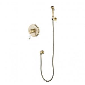 Гигиенический душ скрытый монтаж KAISER Vincent 31017-1 бронза