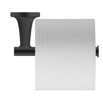 Держатель туалетной бумаги Duravit Starck T 0099374600 черный матовый