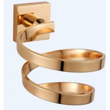 Держатель для фена золотой GUS 751410