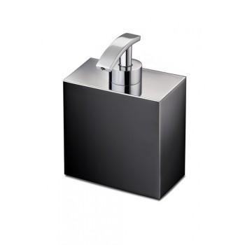 Диспенсер для жидкого мыла Windisсh Black 90704NCR черный с хромом
