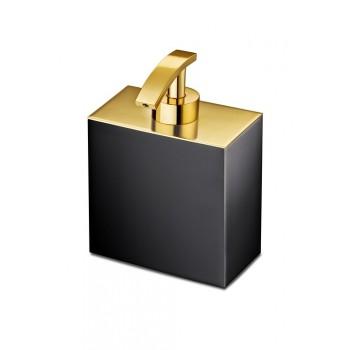 Диспенсер для жидкого мыла Windisсh Black 90704NO черный с золотом