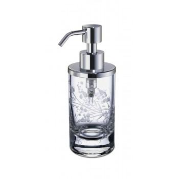 Диспенсер с узором для жидкого мыла настольный Windisсh Barocco 90459CR