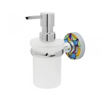 Дозатор жидкого мыла настенный Wasserkraft Diemel K-2299