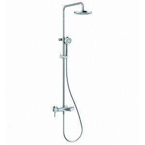Душевая система со смесителем для ванной и душа Kludi Logo 6808305-00