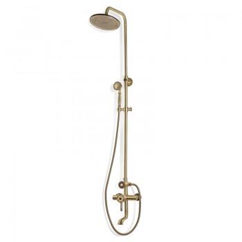 Душевой гарнитур с коротким изливом Bronze de Luxe Windsor 10120 бронза