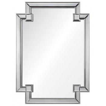Зеркало в раме LouvreHome Честер Сильвер LHVM52