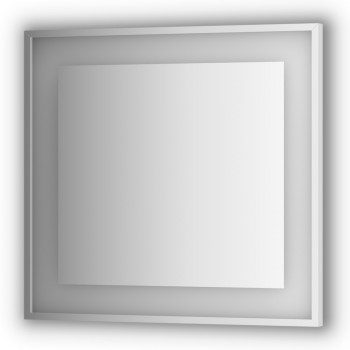 Зеркало в раме с подсветкой LED EVOFORM Ledside BY 2203 (80 x 75)