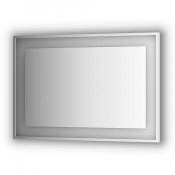 Зеркало в раме с подсветкой LED EVOFORM Ledside BY 2206 (110 x 75)