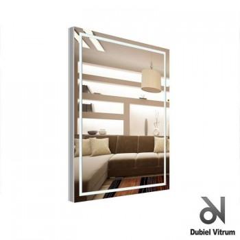 Зеркало с подсветкой по периметру Dubiel Vitrum ВОЛАНО (63x87) УТ000000879