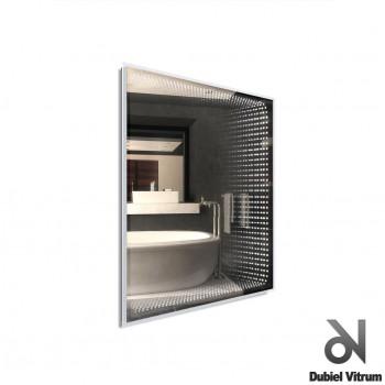 Зеркало с эффектом бесконечности LED Dubiel Vitrum ВЕНЕЦИЯ (90x75) УТ000001372