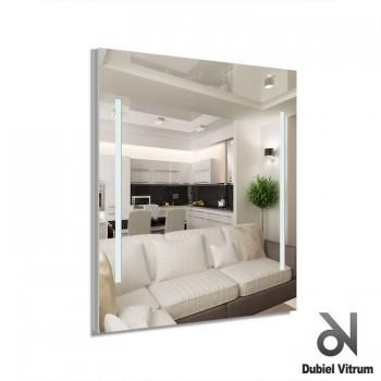 Зеркало с led-подсветкой Dubiel Vitrum Campo (80х60) УТ000000966