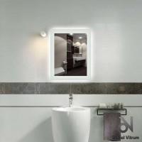 Зеркало со светодиодной подсветкой Dubiel Vitrum Vittorio (60х77) УТ000000882