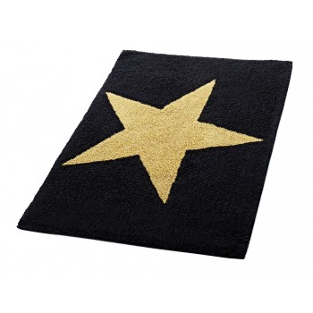 Коврик для ванной комнаты Ridder Star черный (60х90) 712304