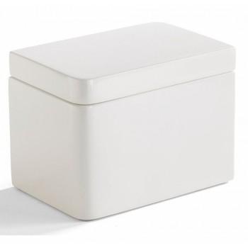 Баночка косметическая Kassatex Lacca White ALA-CJ-W