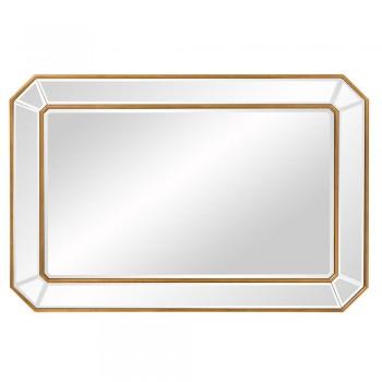 Зеркало в раме LouvreHome Леннокс золотое LHVM555