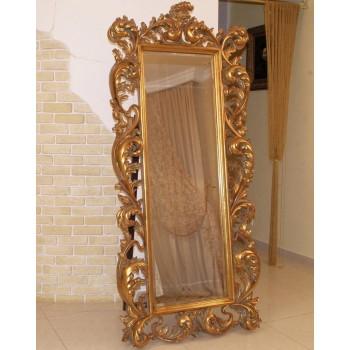 Зеркало напольное в раме LouvreHome Меривейл золото LH230G