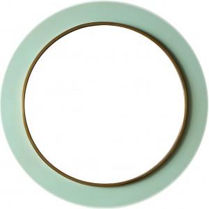 Зеркало в круглой раме LouvreHome Минди 8842