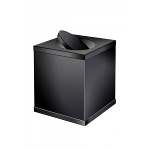 Мусорное ведро с вращающейся крышкой Windisсh Black 89711N черное