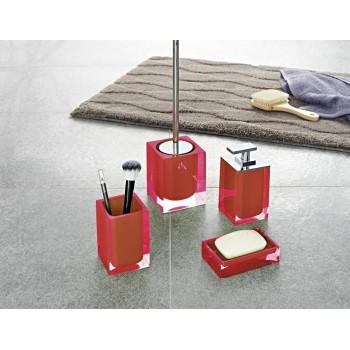 Набор аксессуаров для ванной Ridder Colours S22280506 красный