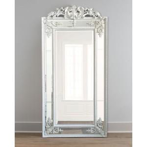 Зеркало напольное LouvreHome Пабло в белой раме LH143HDW