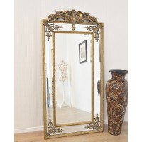 Зеркало напольное LouvreHome Пабло золото LH143HDG