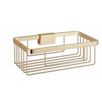Полка-решетка прямоугольная золотая GUS 750910