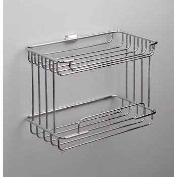 Полка-решетка двойная прямоугольная Windisсh 85100СR