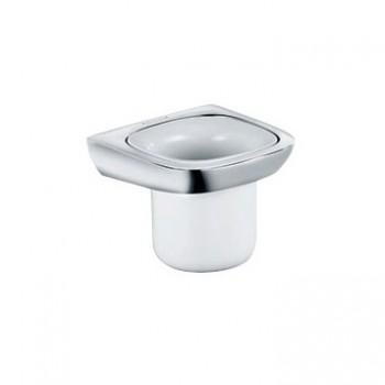 Стакан для зубных щеток и пасты подвесной фарфор Kludi Ambienta 5397505