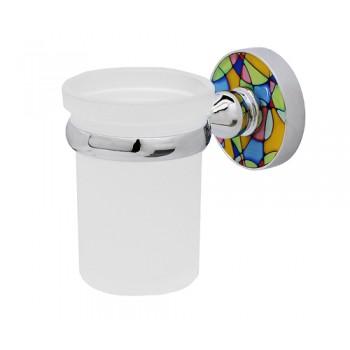 Стакан для зубной пасты и щеток настенный Wasserkraft Diemel K-2228