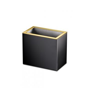 Стакан для зубных щеток Windisсh Black 91702NO черный, золото