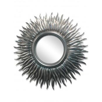 Зеркало в раме LouvreHome Фелиция серебро LH020S