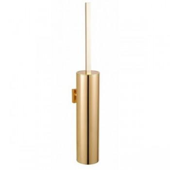 Ерш для унитаза настенный золотой металл GUS 752010